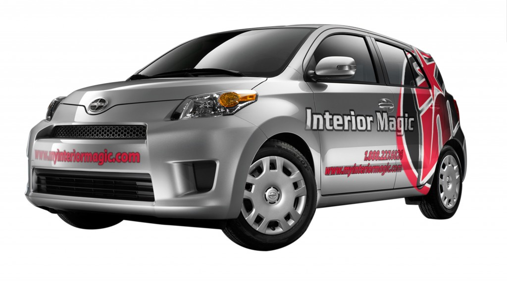 IM Car on White Background