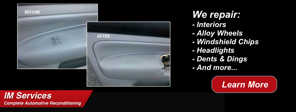 Complete automotive reconditioning services interior magic for Paint chip repair near me