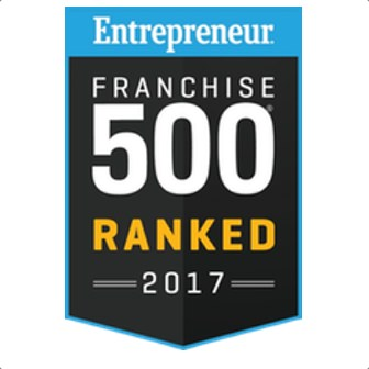2017 Franchise 500 Badge